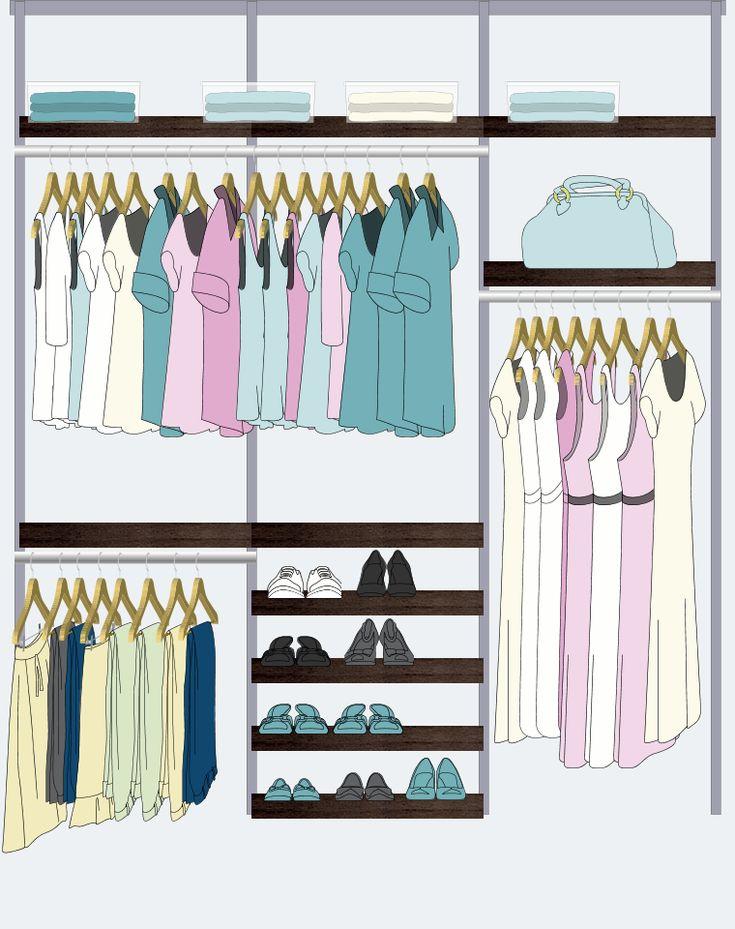 Elfa Closet Design                                                                                                                                                                                 More