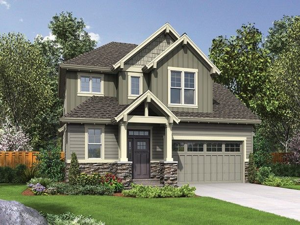 Best House Plans Images On Pinterest Home Plans - Craftsman style narrow house plans