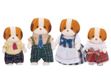 Família dos Cachorros de Seda