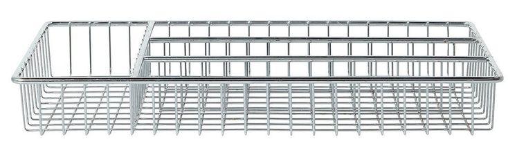 Chrome Utensil Tray (Set of 6)