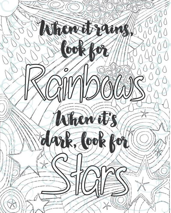 Adult Inspirational Coloring Page printable 02-Look for ...