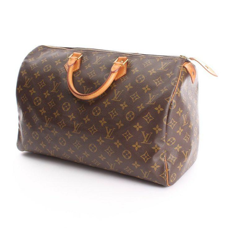 """Luxuriöse Handtasche von Louis Vuitton in Braun - Modell """"SPEEDY 40 Monogramm Canvas"""""""