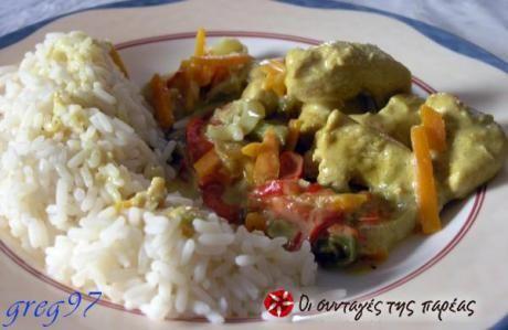Ένας νόστιμος τρόπος μαγειρέματος του κοτόπουλου με αρκετά λαχανικά!