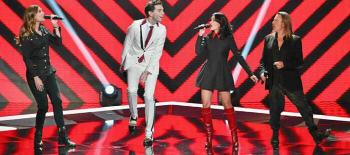 Mika at the Voice France