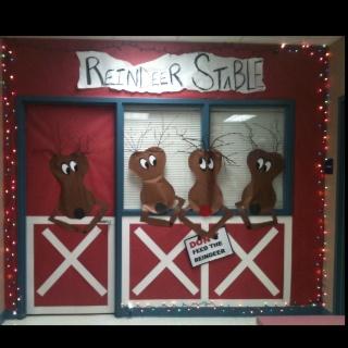 Stables, Reindeer and Doors on Pinterest
