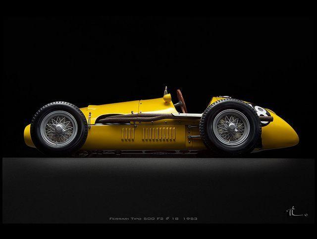 """itsbrucemclaren: """"1953 Ferrari Tipo 500 F2 #18 // """""""