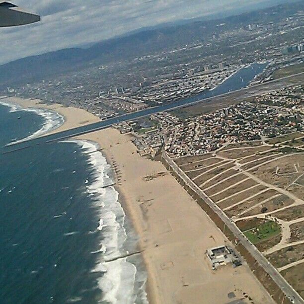 Playa Del Rey and Marina Del Rey, California