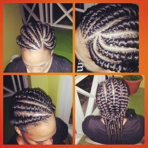 Hey are you looking for ghanaian braids styles? Then look no futher, here we have ghanaian styles also known as invisible cornrow, banana braids, ghana weaving styles and pencil braids.