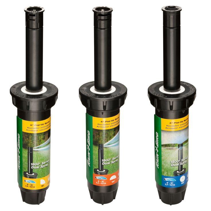 Rain Bird 1800 Series and 1800 Series Dual Spray Popup