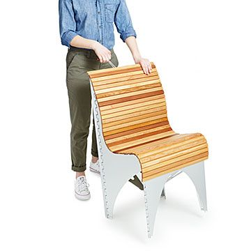 Shape-Shifting Ollie Chair | Folding Chairs, Outdoor ...