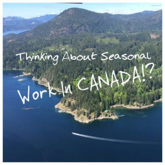 Thinking about working in Canada at a fancy resort!? Here's some tips! #travel #canada #traveler #traveling #nomad #backpacker #travelblog #tavelblogger #travels #island