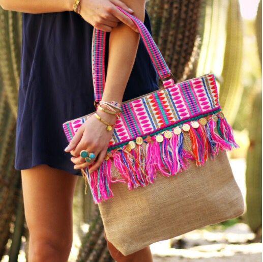 Heerlijke strandtas!