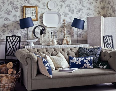 Key Interiors by Shinay: English Country Living Room Design Ideas