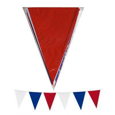 Vlaggenlijn rood wit blauw 10 mtr