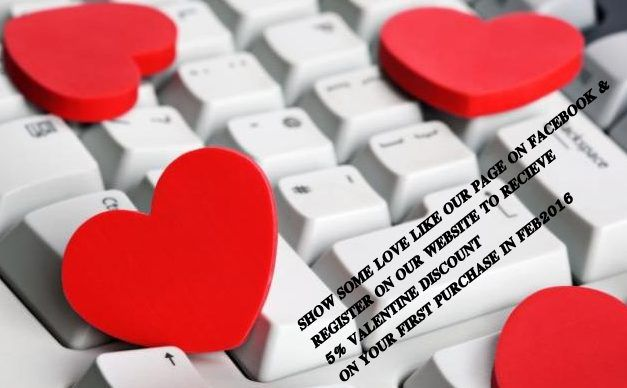 Happy Valentines Day to All , Our gift to you , Simply Like & Register on our website to receive a 5% Discount on your first purchase in the month of Love www.oasistechnologies.co.za