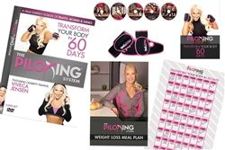 The Piloxing System 5 DVD Set, Guides & Gloves - Viveca Jensen