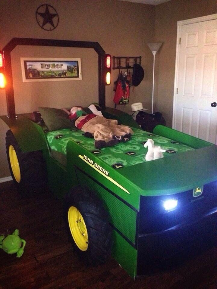 Details about tractor bed plans , John Deere, new holland, allis chalmbers,  ford, massey - Best 20+ John Deere Room Ideas On Pinterest John Deere Bedroom