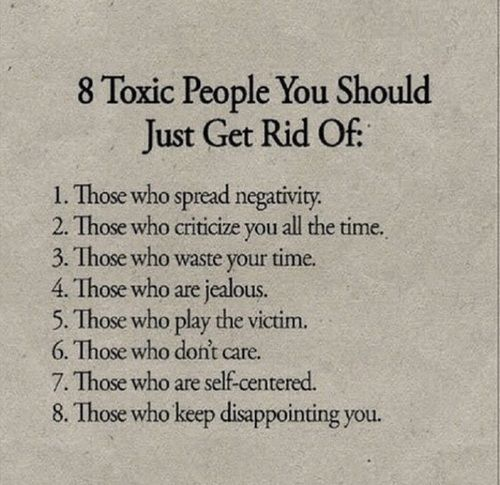 Toxic relationships and expelling them from your life (8.31 ...