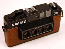 Custom Nimslo 3D Lenticular Camera $69.88