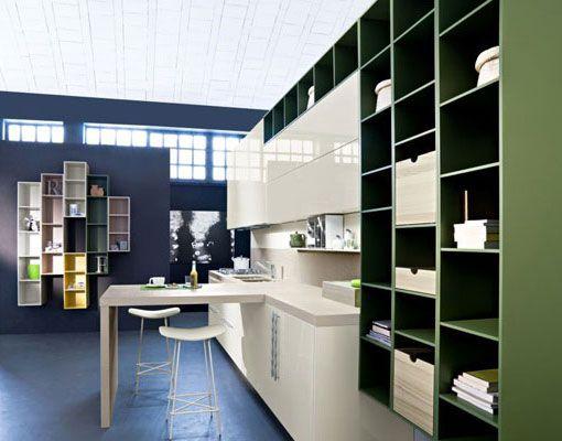 Inneneinrichtung, Küchen Design, Küchen