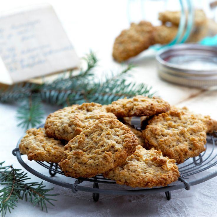 Havremakroner: Bak noen saftige og smakfulle Havremakroner.