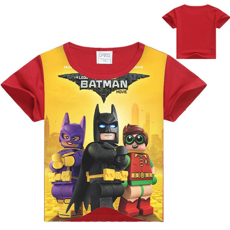 2017 Summer Boys T Shirts Batman Superman Children's Clothing Baby Girls T-shirt Ninja Ninjago Cotton T-shirt Kids Tops Tees #Affiliate