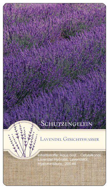wirksame Antifaltencreme, wirksame Pickelcreme, wirksame Cellulitecreme: Lavendel Gesichtswasser beruhigend