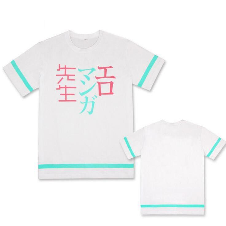 New Eromanga Sensei Sagiri Izumi Cosplay T-shirt Fashion Masamune Izumi  Anime Men T Shirt