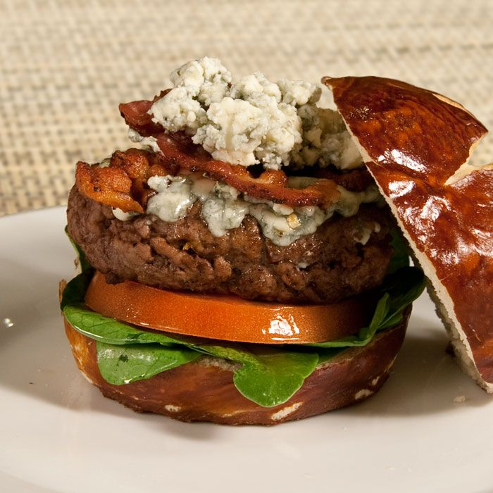 Easy Blue Cheese Burgers. Hello grilling season!!