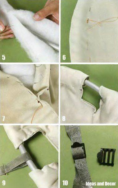 Как сшить  кресло-гамак своими руками / Мастер-класс