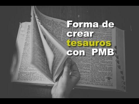 PMB: creación de Tesauros | BiblioLab