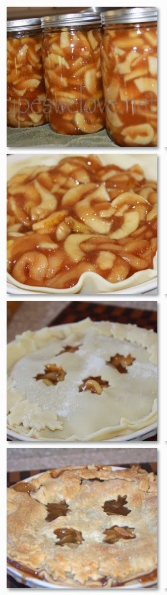 Apple Pie Filling — water bath canning   Recipes We Love