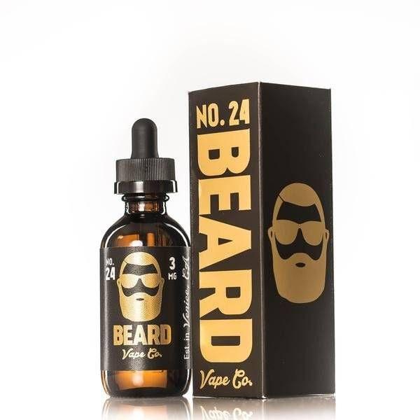 Beard Vape No.24 OP=OP 60 ML €19,95 Gezoute caramel met een rijke, zoete smaak. De perfecte caramel milkshake.http://www.esmokez.nl/Beard-Vape-No.05