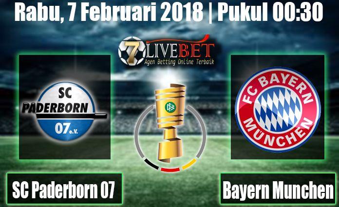 Prediksi Bola SC Paderborn 07 vs Bayern Munchen 7 Februari 2018. Prediksi Bola Menyajikan Hasil Skor Akhir Pertandingan kedua tim dari seluruh game.