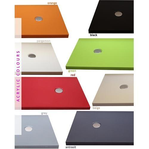 Square & Rectangular Colourful Showertrays