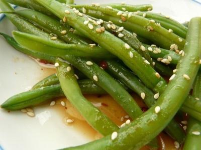Weekday Vegetarian: Sesame Green Beans