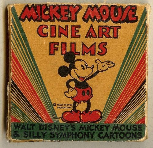 Rare Vintage Mickey Mouse Cine Art Films