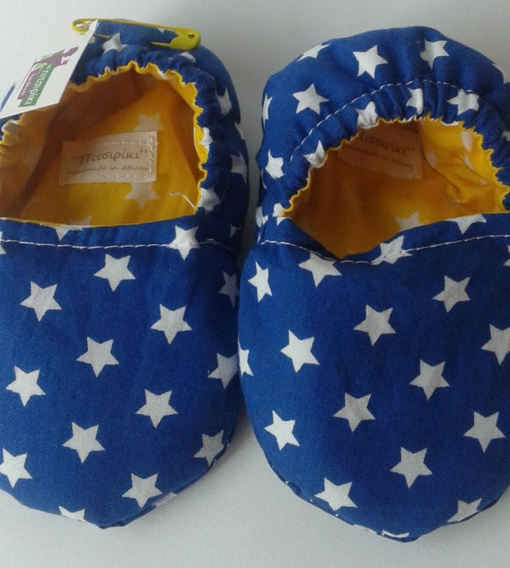 Shoes, baby shoes, baby boy, soft sole,  EGST, European street team, Little stars, ready to ship, handmade, ideal baby shower gift, new mum by Pitsiriki on Etsy