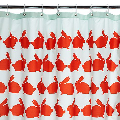 Buy Anorak Kissing Rabbits Shower Curtain Online At Johnlewis