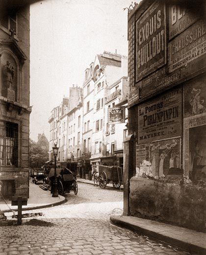 Rue Boutebrie - Eugène Atget