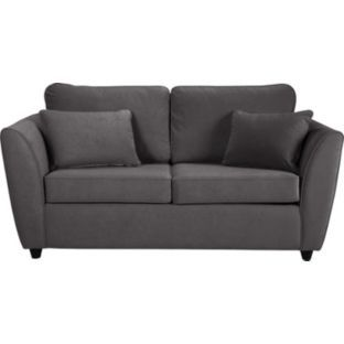 Buy Dolly Sofa Bed - Charcoal at Argos.co.uk  •£314.49  Fold out bed mechanism.  •Small double.  •Sofa size H86, W168, D85cm.  •Weight 59kg.  •Size as bed: H72, W168, D225cm.  •Size of sleeping area: W115, L185cm.  •Floor to seat height: 46cm.  •Depth of seat: 53cm.  •Height of seat back: 46cm.  •Width of seating area between arms: 110cm.  •Height of arm rest: 58cm.