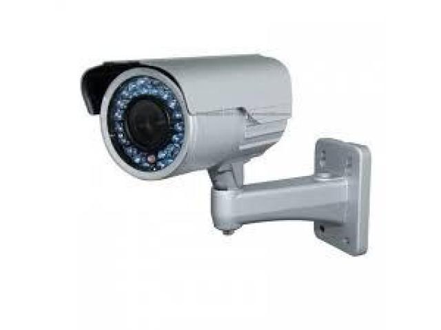 Cctv IR camera Bullet camera 0556789741 installation cabling setup in dubai Dubai - FreeBRB