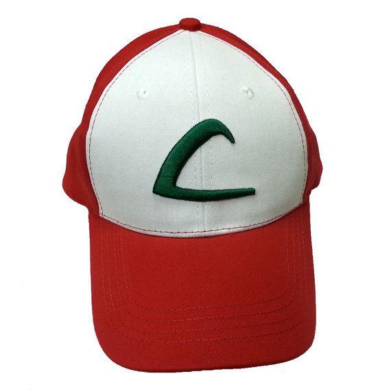 Ash Ketchum Adult Baseball Cap Original Pokemon Hat Costume Accessory New on Etsy, $14.90