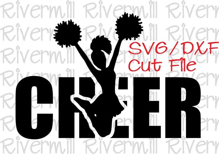 Svg Dxf Cheer Cut File Cheer And Ps