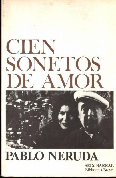 Cien Sonetos De Amor, Pablo Neruda #libros