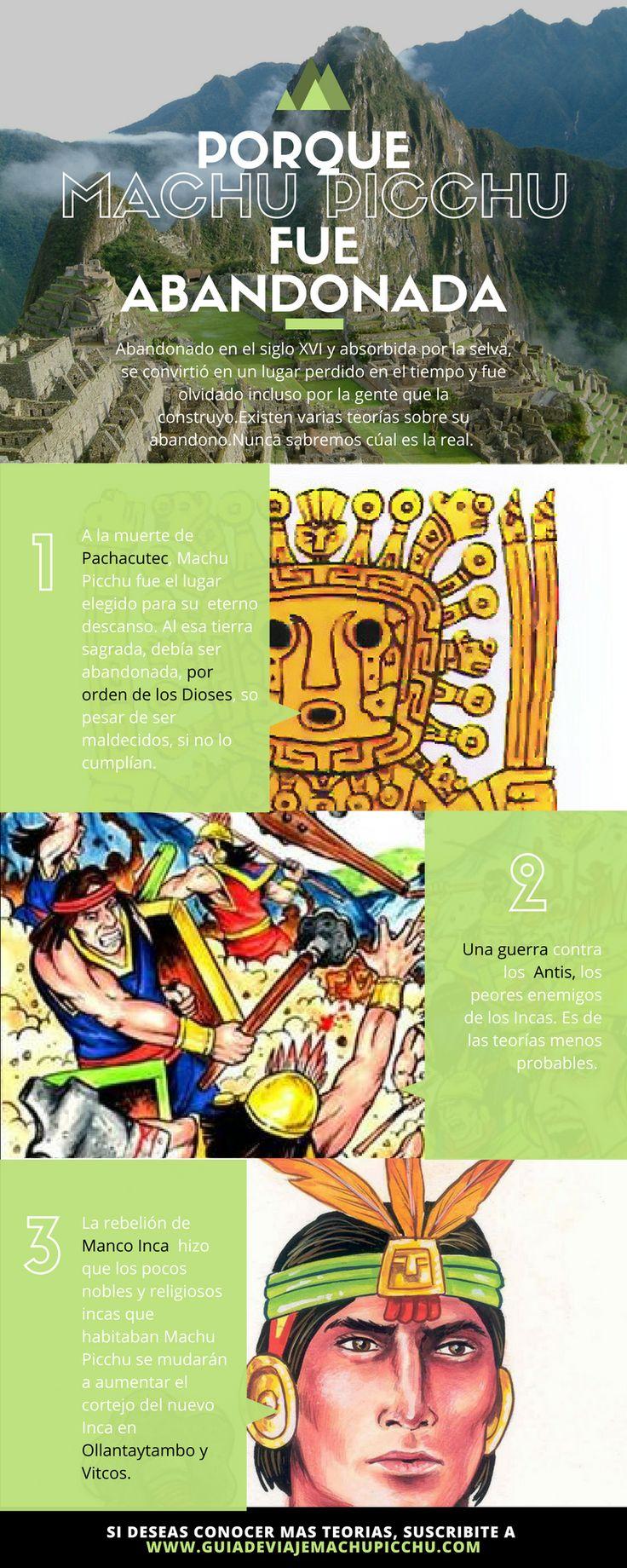 Teorías sobre porque los incas dejaron de utilizar el Santuario quedando en el olvido. #peru #machupicchu