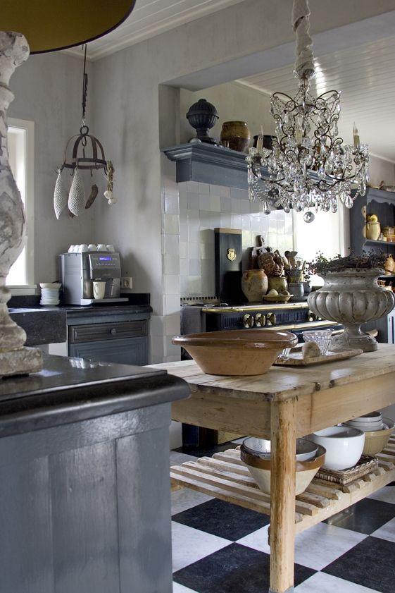 Keuken Aanrecht Verven : Keuken Werkbladen op Pinterest – Graniet, Keuken Aanrecht en Blauwe