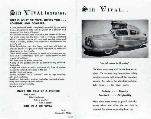 Sir Vival - Concept car 1958