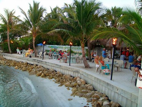 Square Grouper Bar on the Waterfront at Jupiter Inlet