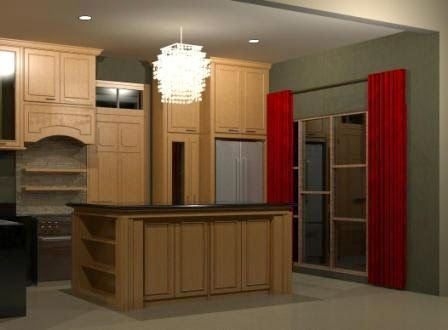 ARADES LIVING - FURNITURE & INTERIOR: Desain Kitchen Set / Pantry di Bintaro